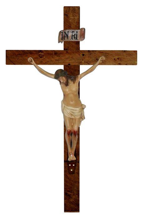 Crucifixo de Parede Resina 140 cm