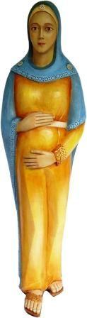 Imagem Maria Mãe da Vida Resina 7234 70cm