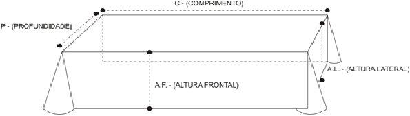 Toalha Altar 076 5M