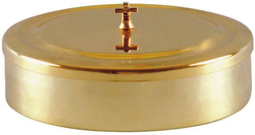 Caixa para Hóstia Dourada 21 cm 7107