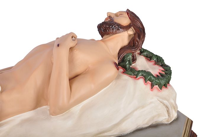 Imagem Senhor Morto Resina 130 cm