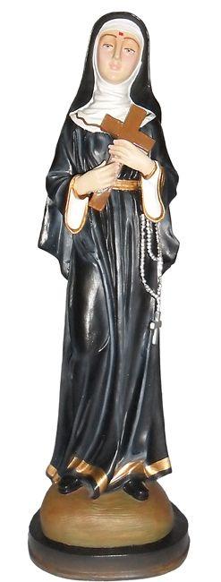 Imagem Santa Rita de Cássia Resina 60cm
