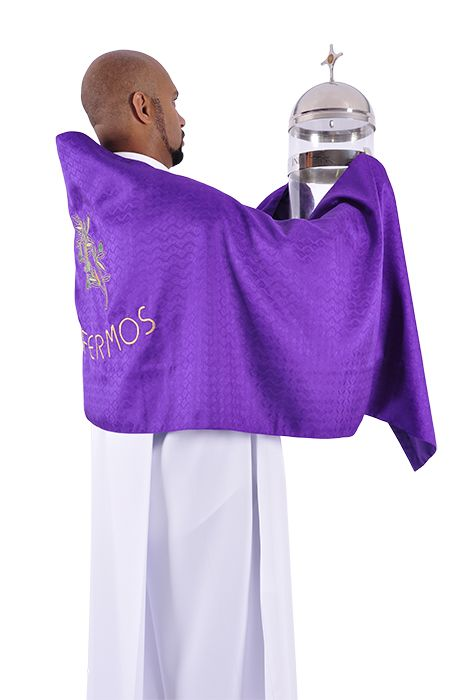 Véu de Ombros Missa do Crisma Enfermos VO152