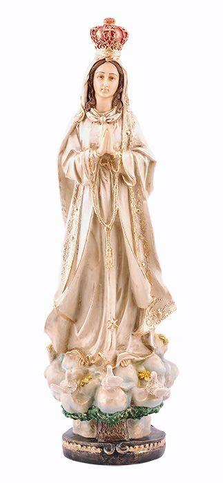 Imagem Nossa Senhora de Fátima Resina 60cm - Barroco