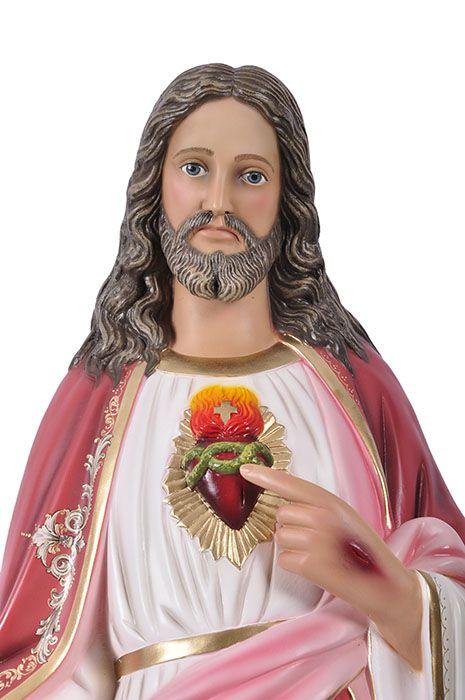 Imagem Sagrado Coração de Jesus Durata 100cm
