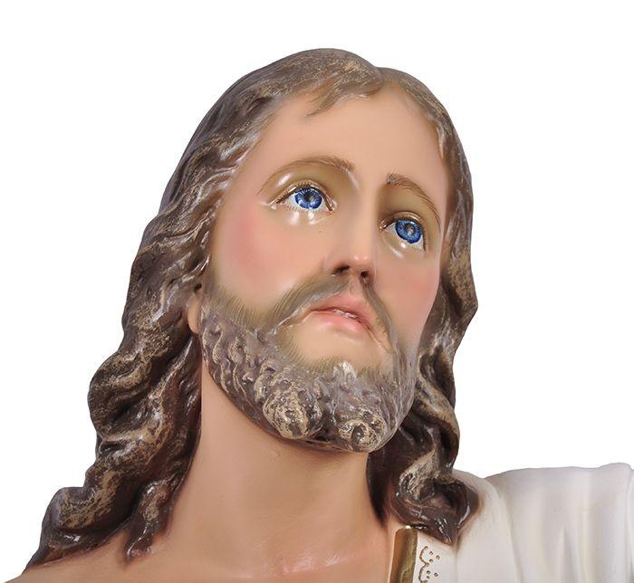 Imagem Cristo Ressuscitado com Base Durata 100cm