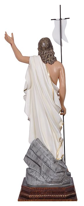 Imagem Cristo Ressuscitado com Base Durata 100 cm