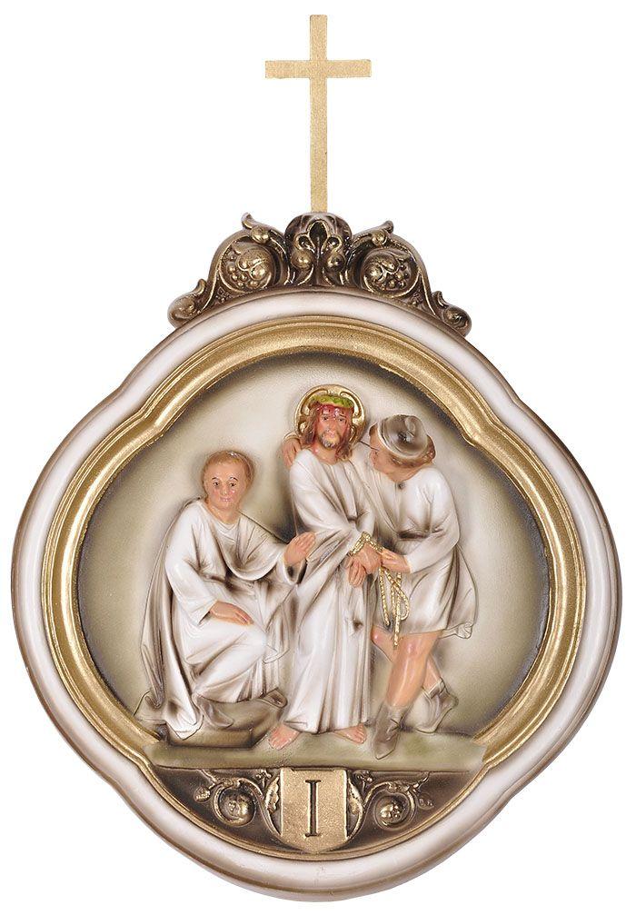 Via-Sacra Durata 15 peças 37x42 cm
