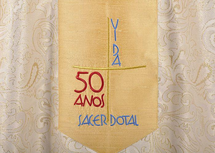 Casula Jubileu Sacerdotal 50 Anos CS078