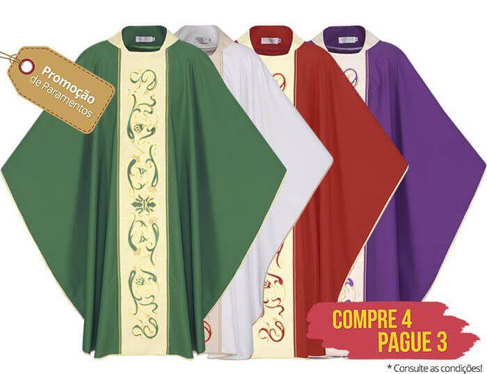 Kit 4 Casulas Pergaminho Florentino CS426