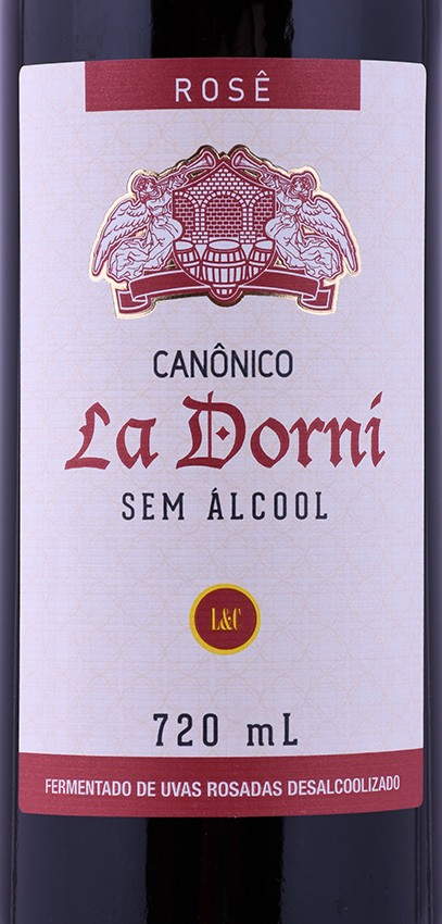 Vinho Canônico La Dorni Rosé sem Álcool 720ml