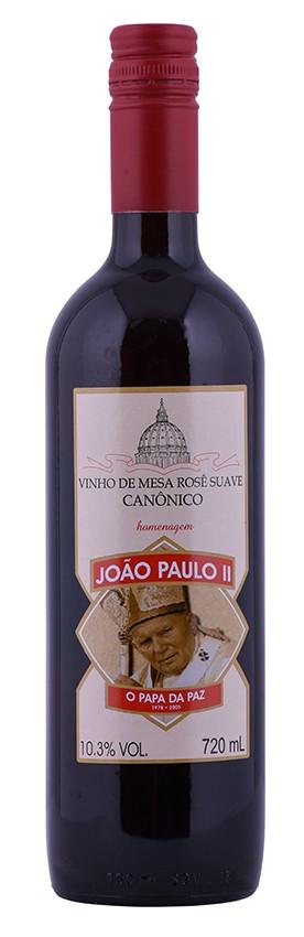 Vinho Canônico João Paulo II Rosé 720ml
