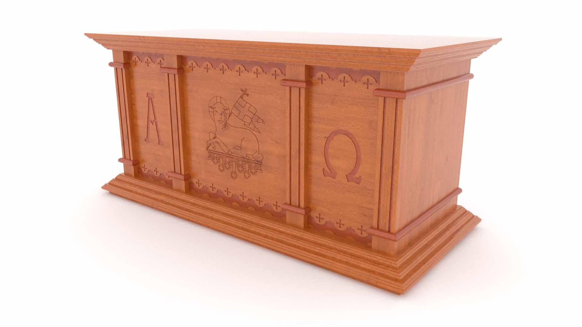 Altar Israel Gravado 109