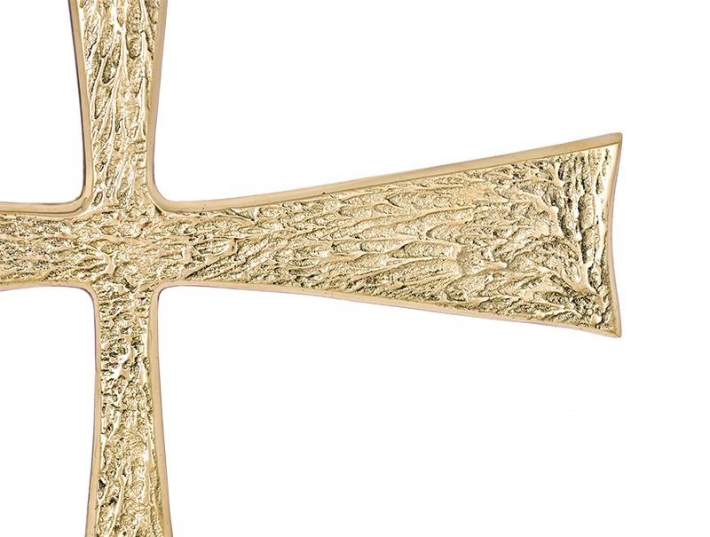Aplique Alfa e Ômega com Cruz 46cm