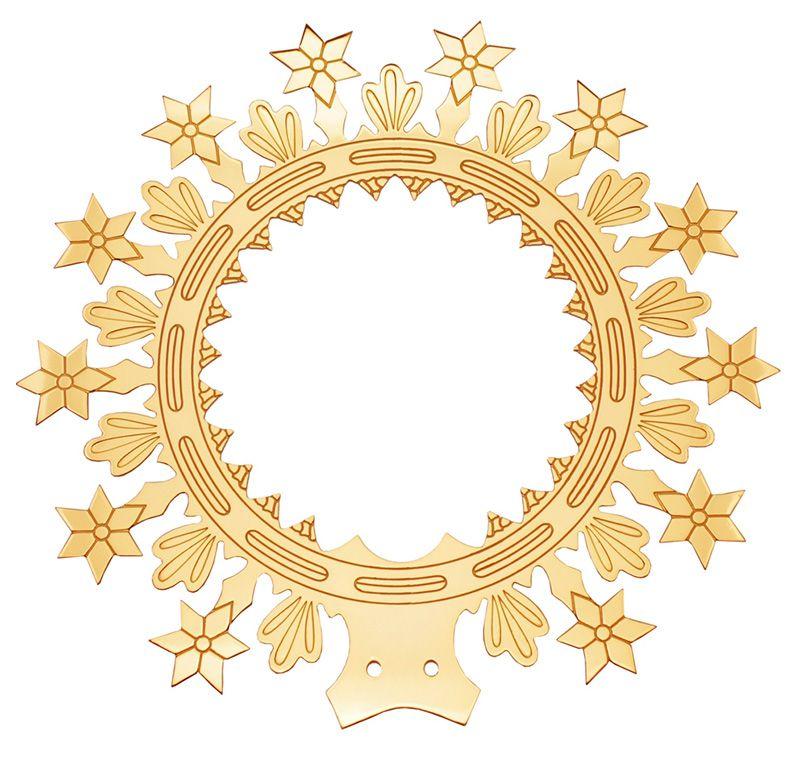 Auréola com Estrelas 27cm 8208