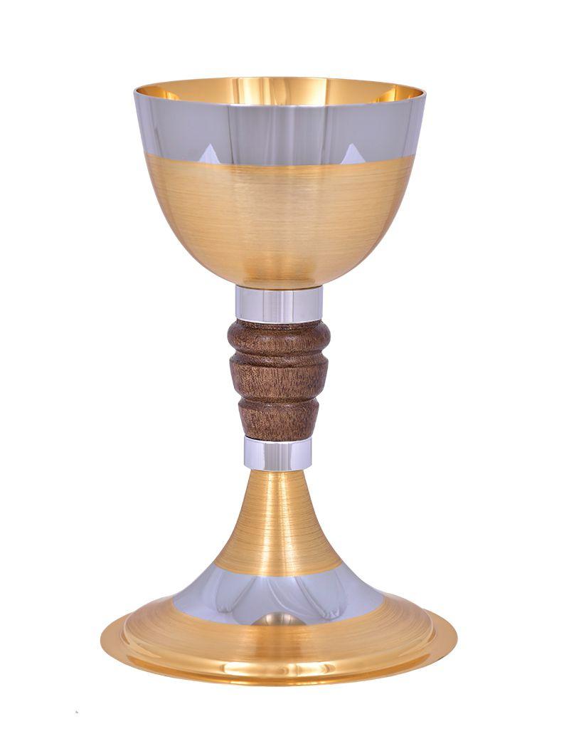 Cálice Dourado Fosco Miolo de Madeira 1119