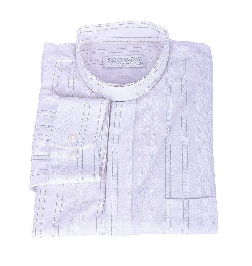 Camisa Clerical 3/4 069