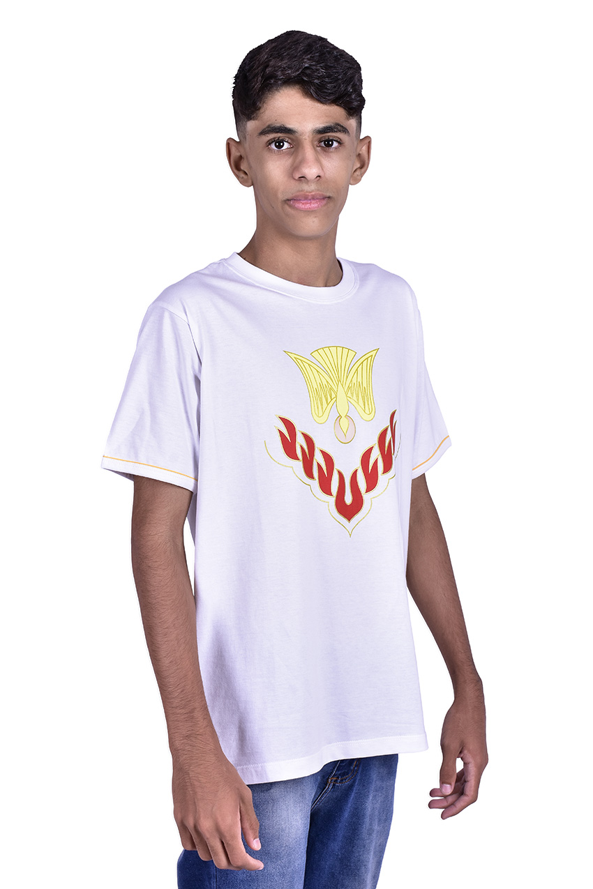 Camisa Crisma Branca Adulto S023