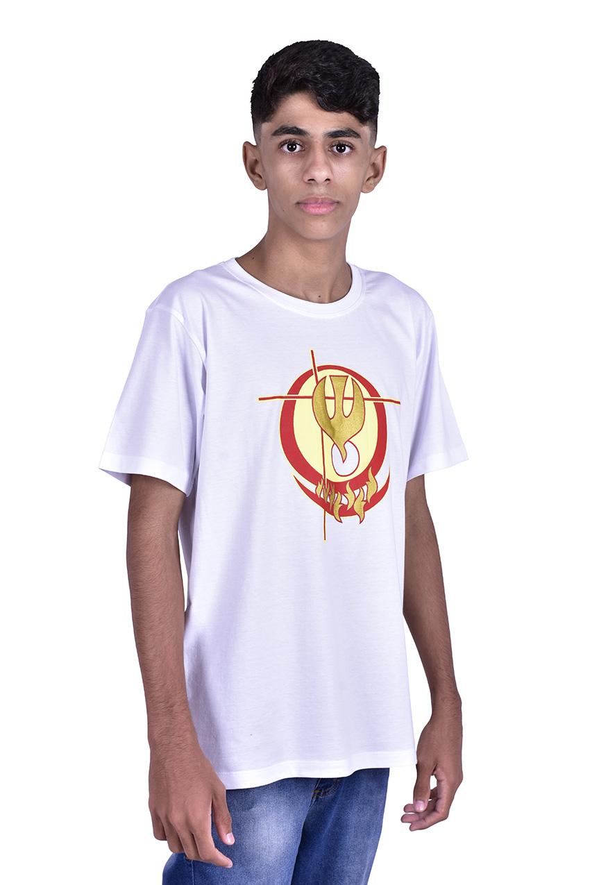 Camisa Crisma Branca Adulto S024