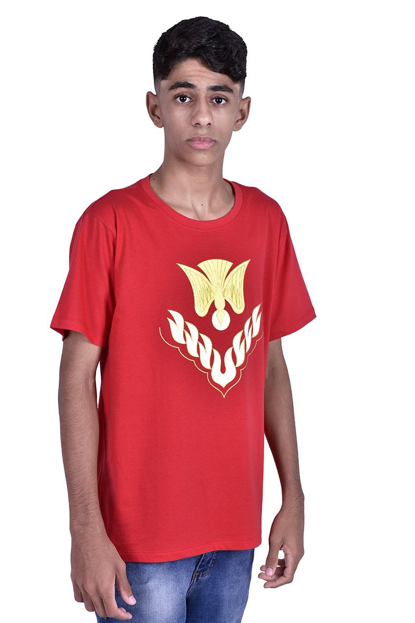 Camisa Crisma Vermelha Adulto S023