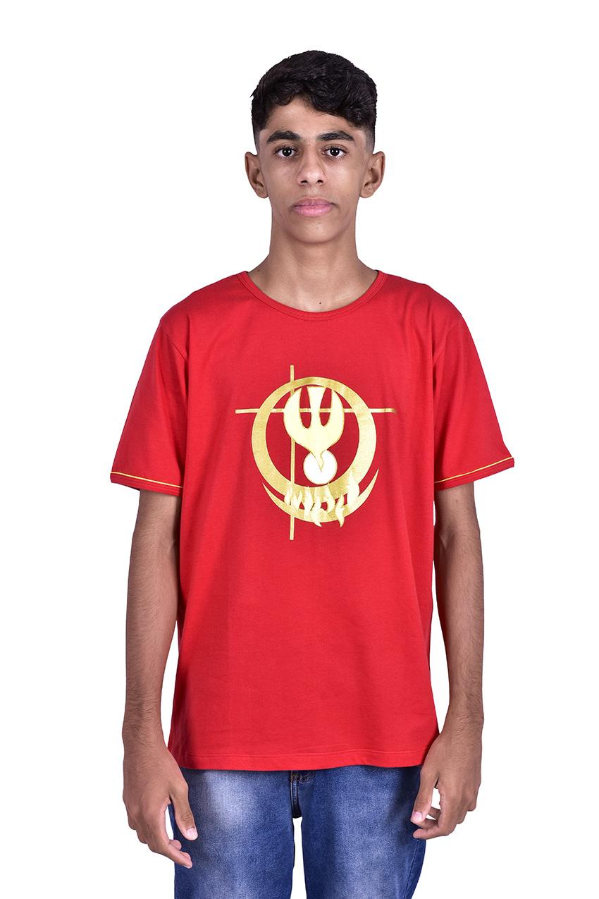 Camisa Crisma Vermelha Adulto S024