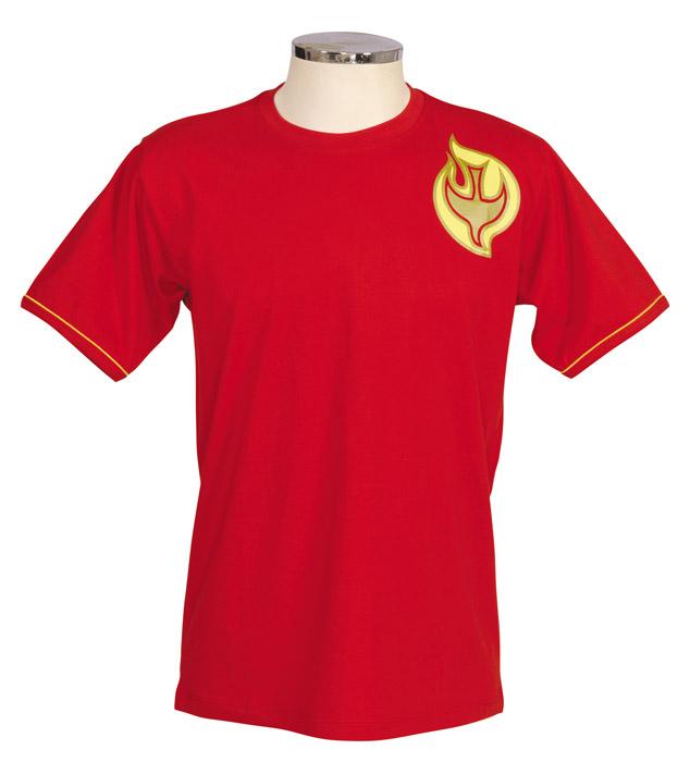 Camisa Crisma Vermelha Infantil S050