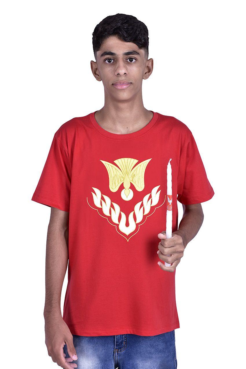 Camisa Crisma Vermelha S023