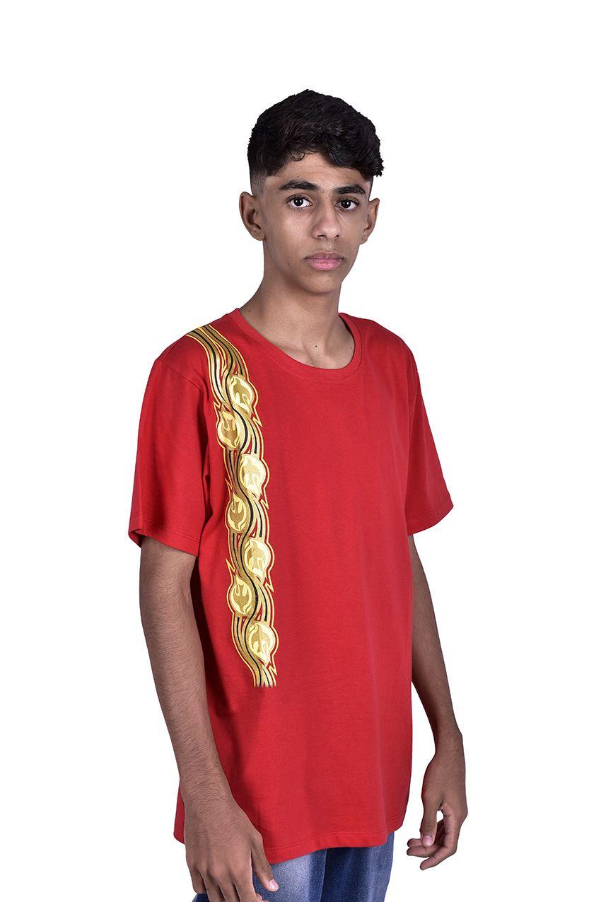 Camisa Crisma Vermelha S040