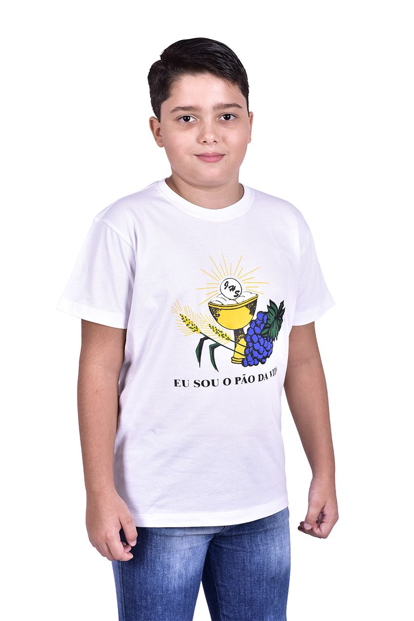 Camisa Eucaristia Infantil S026