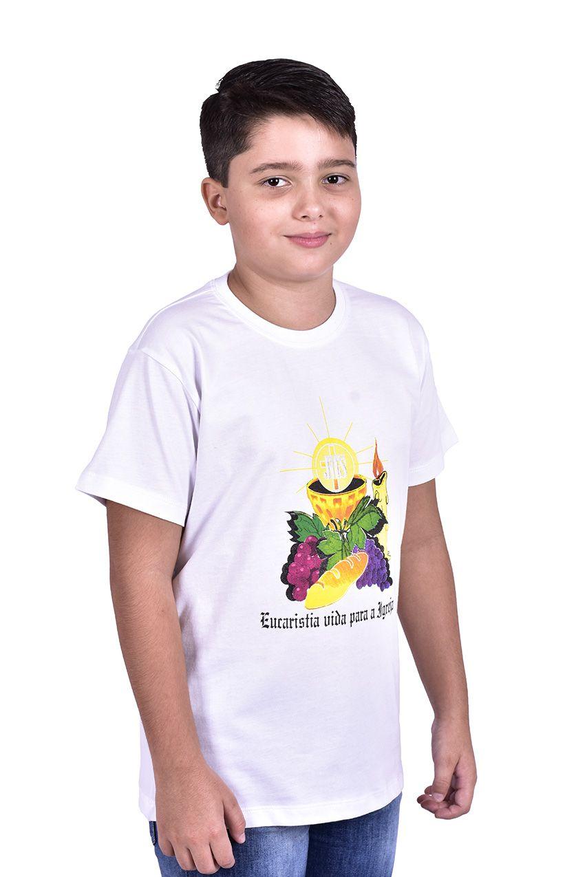 Camisa Eucaristia Infantil S027