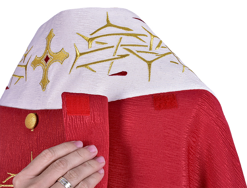 Capa de Asperges Cristo Rei CP515