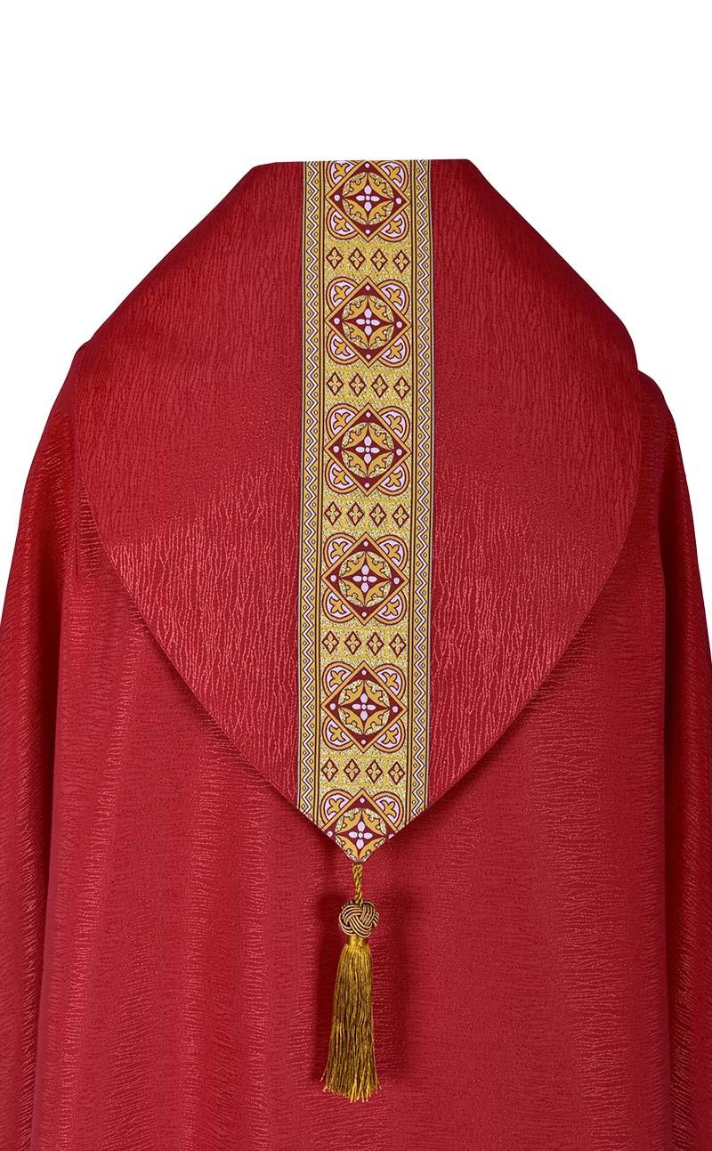 Capa de Asperges Paroquial cor Vermelho CP513