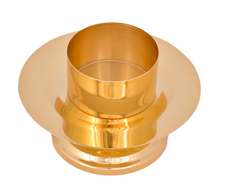 Castiçal Dourado 7 cm 1712