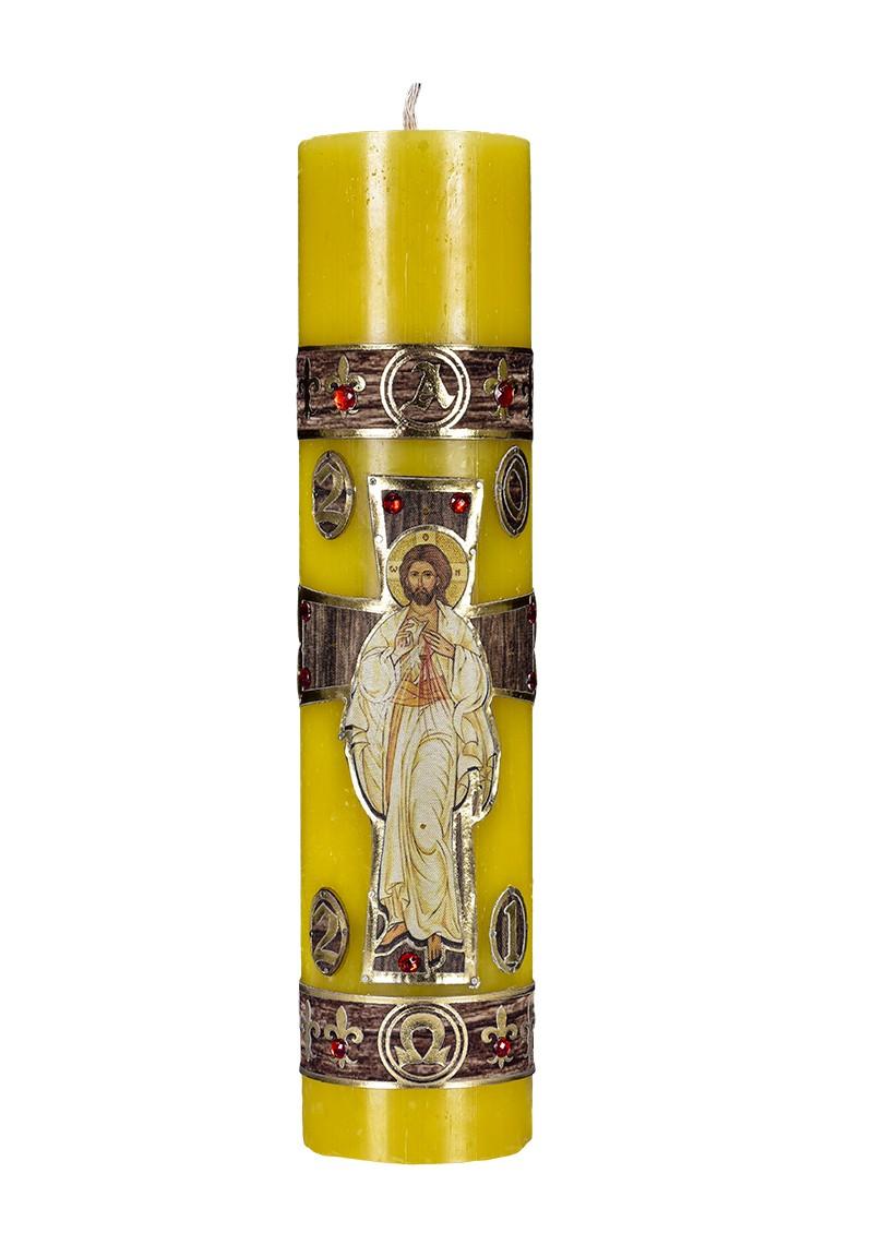 Círio Pascal Ressuscitado 105 60x9,5 cm