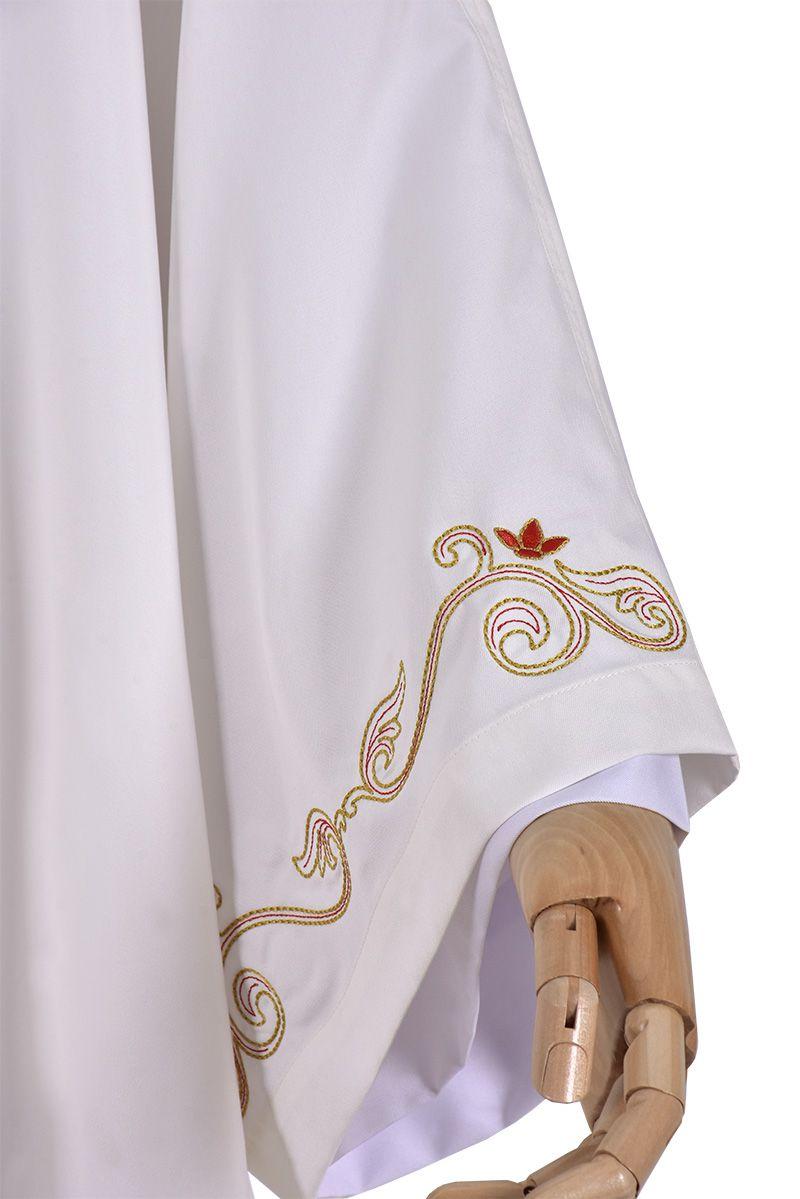 Coleção Diaconal Sagrado Coração com Dalmática e Estola Diaconal