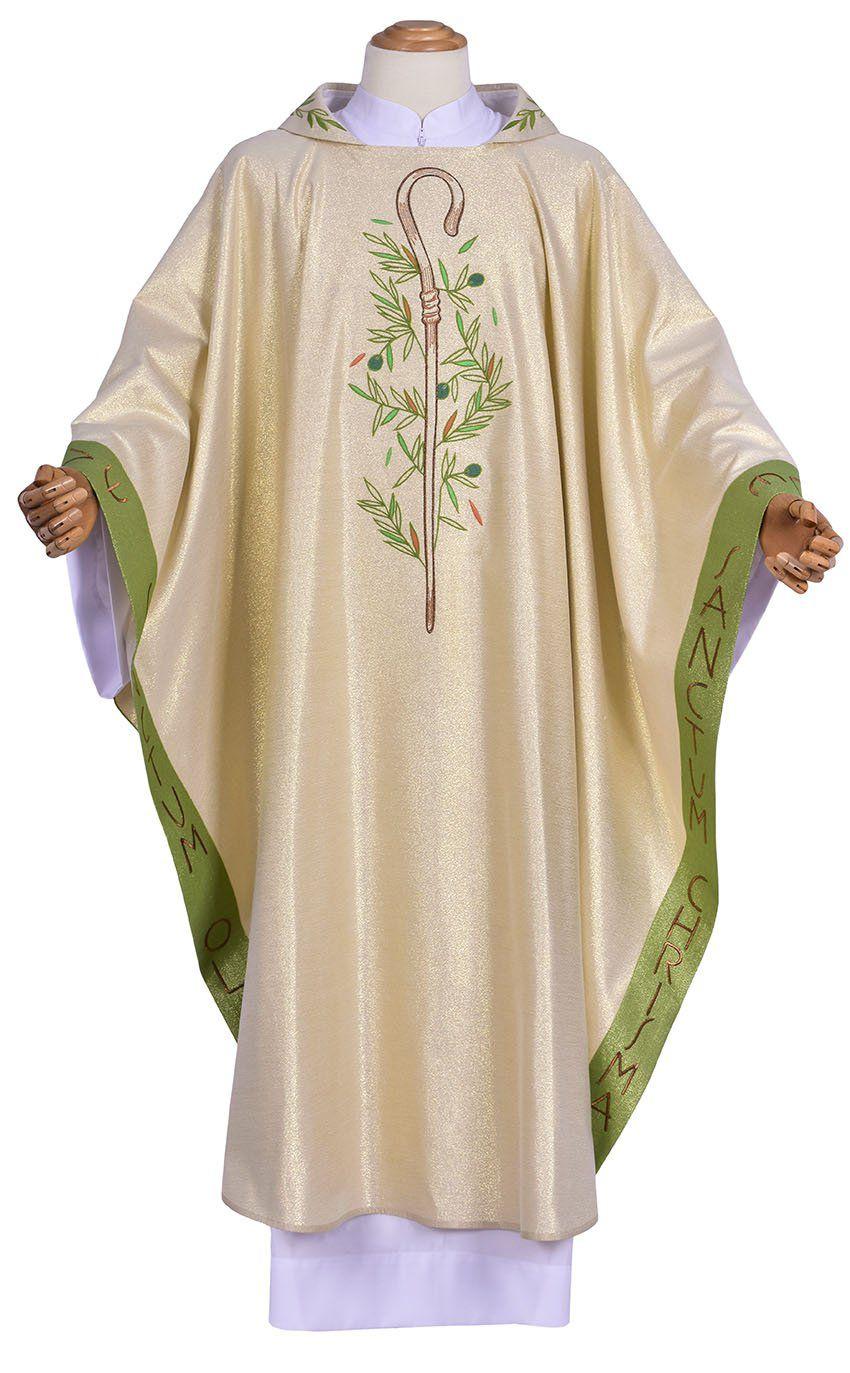 Coleção Missa do Crisma Episcopal com Casula Presidente e Mitra
