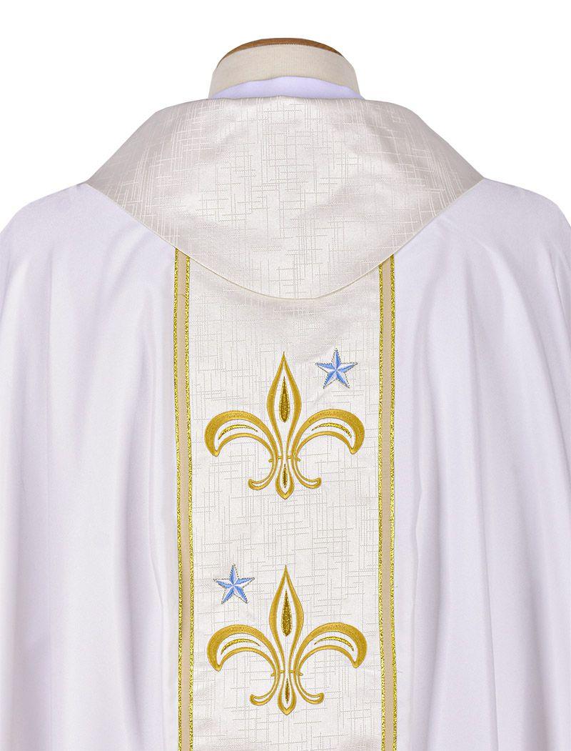 Coleção Presbiteral Santa Maria com Casula e Estola Sacerdotal