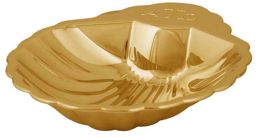 Concha Batismo Dourada 922