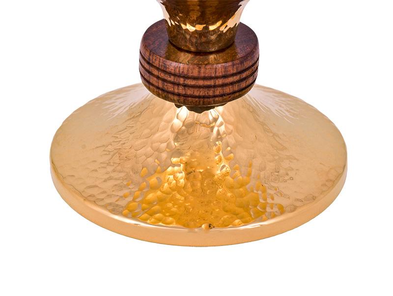 Conjunto Âmbula e Cálice Dourado 531
