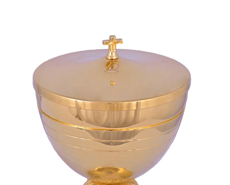 Conjunto Âmbula e Cálice Dourado 712