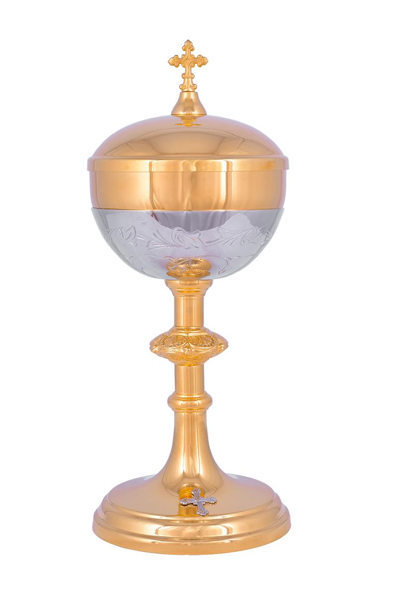 Conjunto Âmbula e Cálice Dourado 719