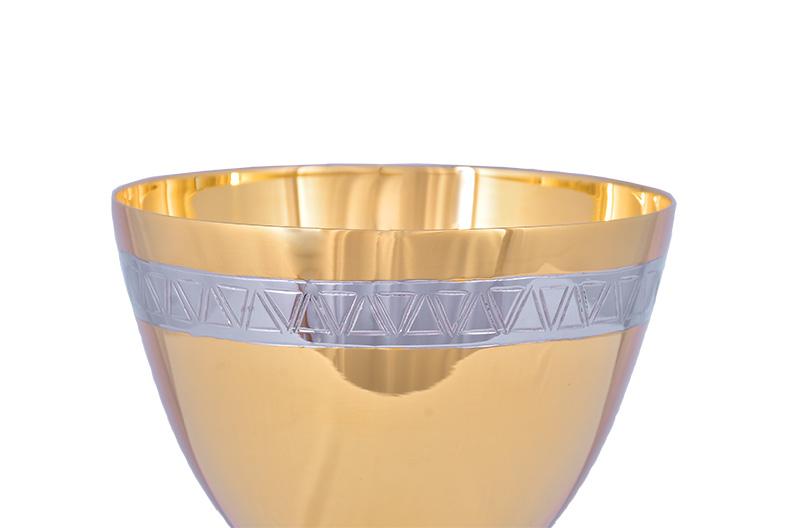 Conjunto Âmbula e Cálice Dourado 721