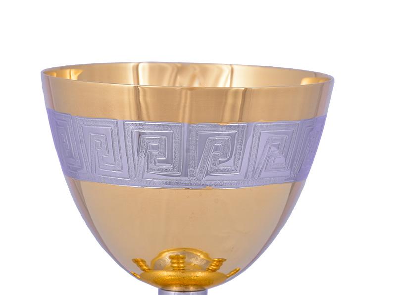 Conjunto Âmbula e Cálice Dourado 723