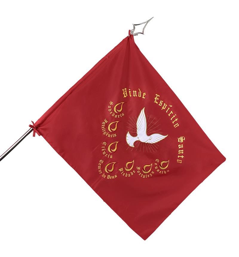 Conjunto Bandeira do Divino Espírito Santo, Haste 133 e Ponteira Especial 87