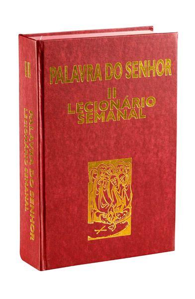 Conjunto Capa Lecionário AF201 com Lecionário Semanal - VOL ll