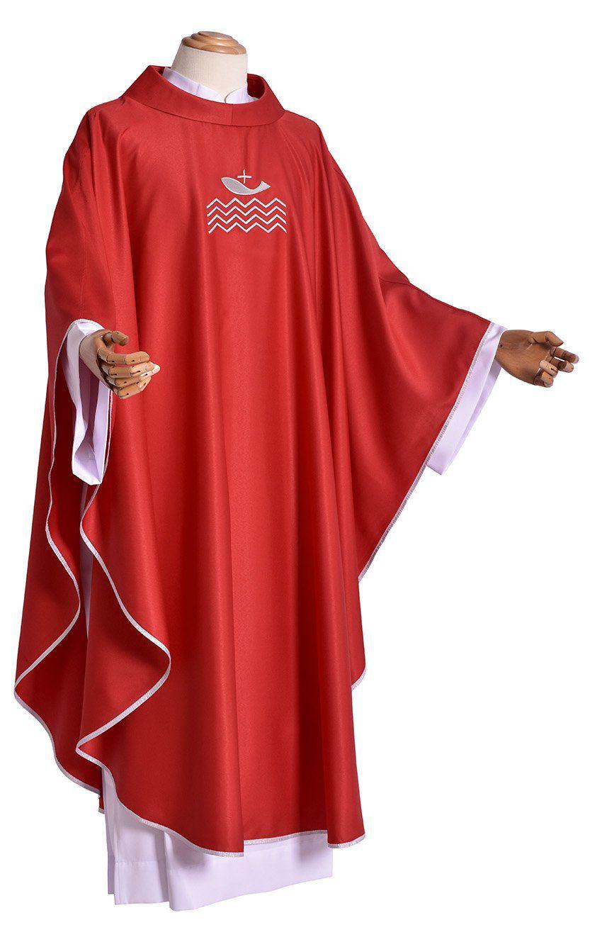 Conjunto Casula Cardeal Bergoglio CS419 com 4 cores
