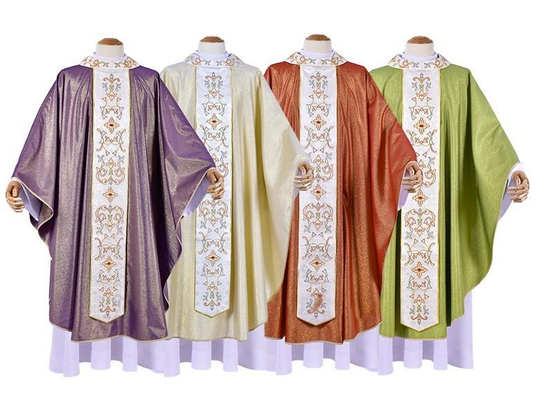Conjunto Casula Constantinopla CS527 com 4 cores