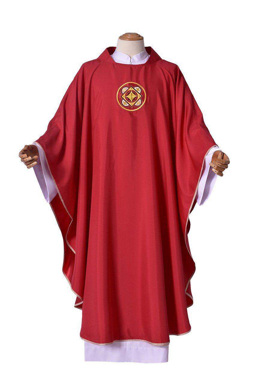 Conjunto Casula Padre Eustáquio CS069 com 4 cores