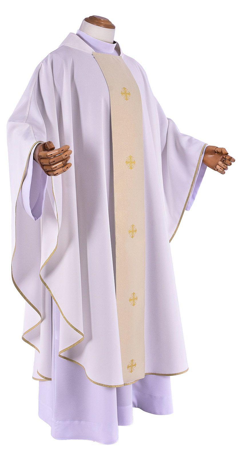 Conjunto Casula Padre Manoel da Nóbrega CS100 com 4 cores