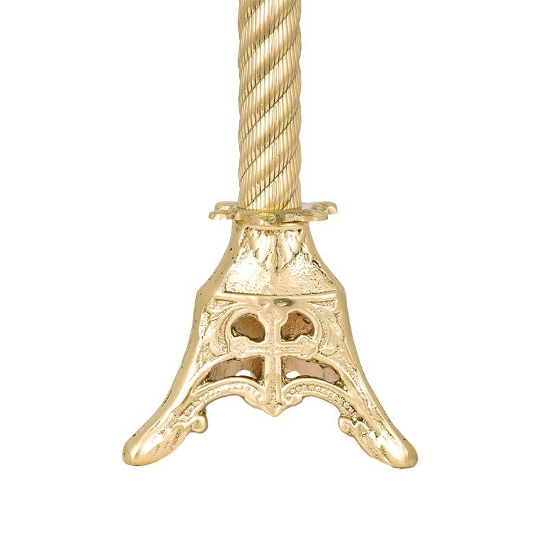 Conjunto Crucifixo e Castiçal 140 com 2 Castiçais e 1 Crucifixo